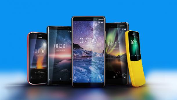 Vom Einsteiger-Smartphones bis zum Flaggschiff: Vier neue Nokias von HMD