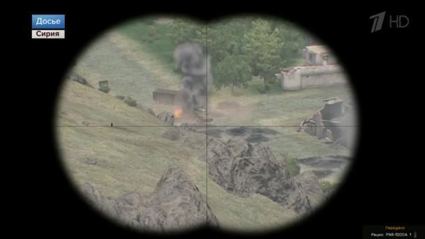Russisches Fernsehen berichtet mit Ausschnitt aus Videospiel über Krieg in Syrien