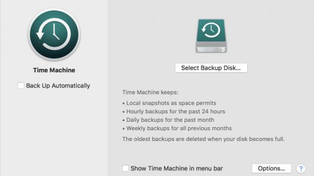 APFS: macOS High Sierra warnt nicht vor Backup-Zerstörung