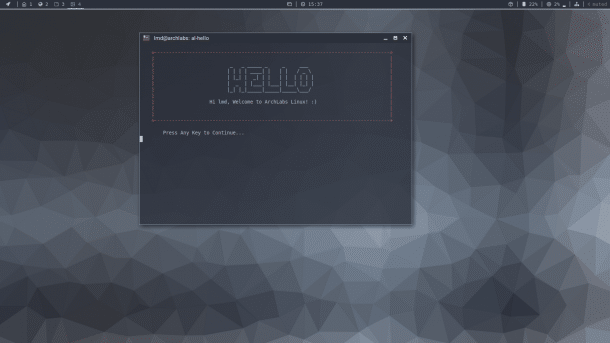 ArchLabs 2018.02: Schlankes Linux mit topaktueller Software