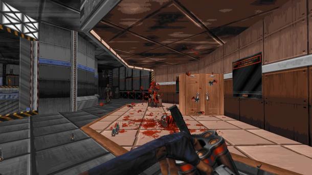 Ion Maiden: Duke-Nukem-Entwickler veröffentlicht 90er-Jahre-Shooter mit Steinzeit-Engine