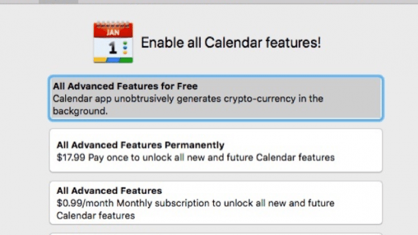 Bitcoin-Miner im Mac App Store