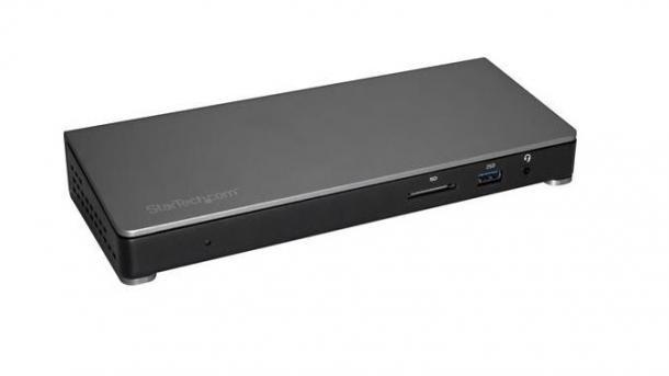 Via Thundebolt 3: Notebook-Dockingstation für zwei 4K-Displays