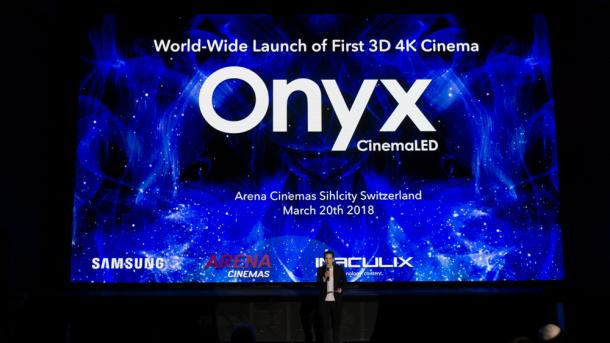 Cinema LED Screen: Erstes europäisches Kino mit Bildwand statt Projektion