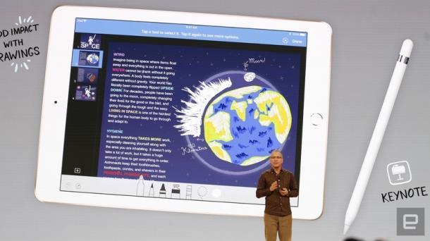 Apple stellt neues, günstiges iPad vor