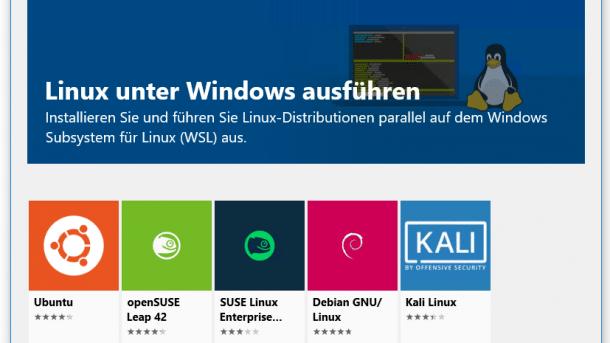 Linux-Schmusehilfe für Windows