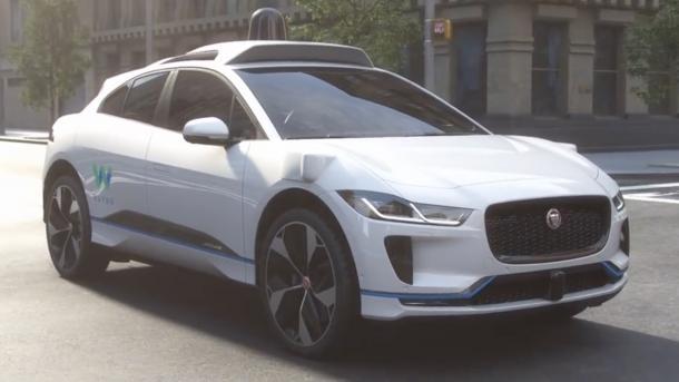 Autonome Autos: Waymo baut Elektroautos von Jaguar zu Robotaxis um