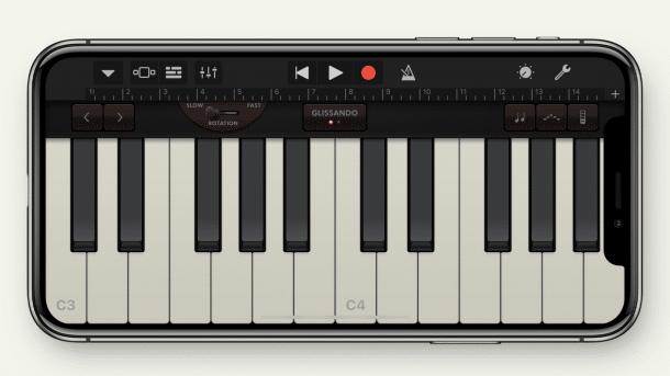 Piano Garage Band : Iphone garageband lässt sich per gesichtsausdruck steuern