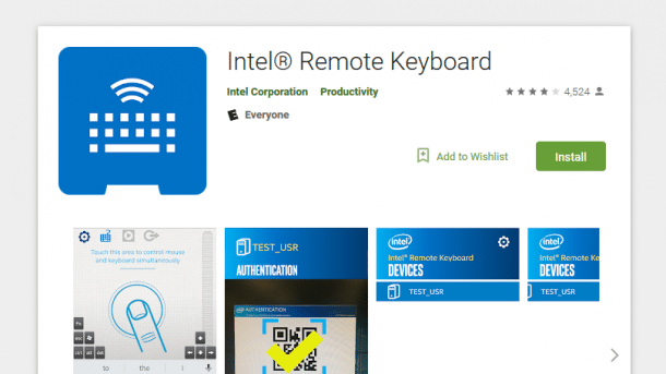 Remote Keyboard App: Intel rät zum Deinstallieren
