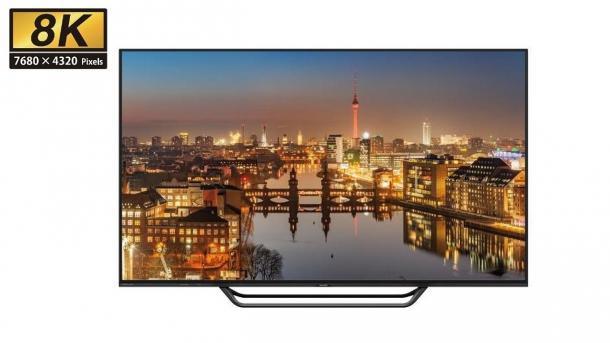 8K-Display für knapp 12.000 Euro: 70-Zoller Sharp LV-70X500E mit 33,1 Millionen Pixeln
