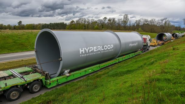 HyperloopTT: Erste Hyperloop-Teststrecke in Europa im Bau