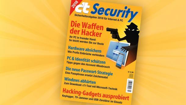 c't Security jetzt online vorbestellbar