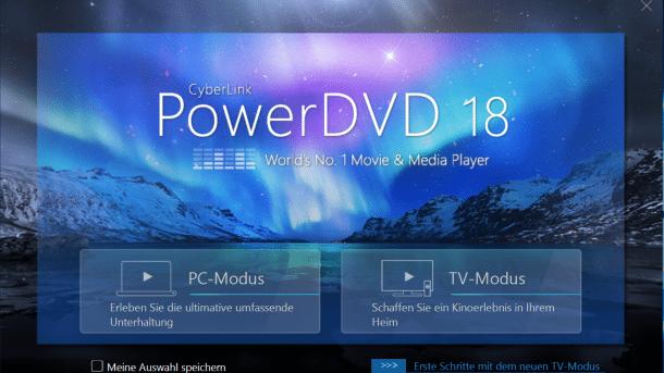 PowerDVD 18: Verbesserte Medienwiedergabe, neuer Mini-Player, VR-Videos ohne Brille