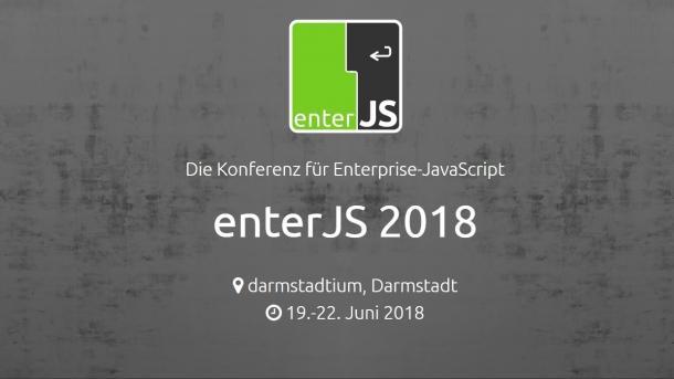enterJS 2018: Jetzt noch Frühbucherrabatt sichern