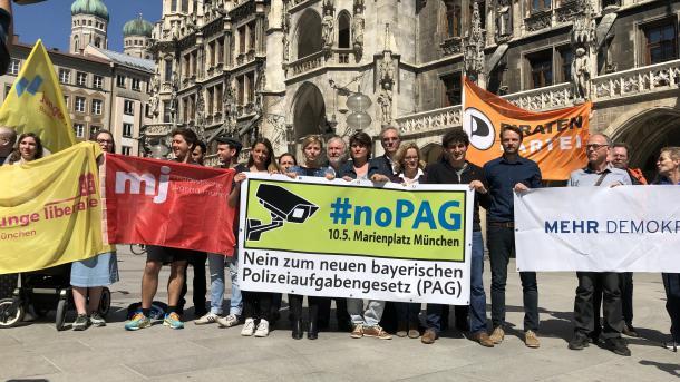 Buntes Bündnis warnt vor Bayerischem Präventionsstaat