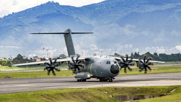 Sorgenkind: Technische Erprobung von Militär-Airbus A400M geht voran
