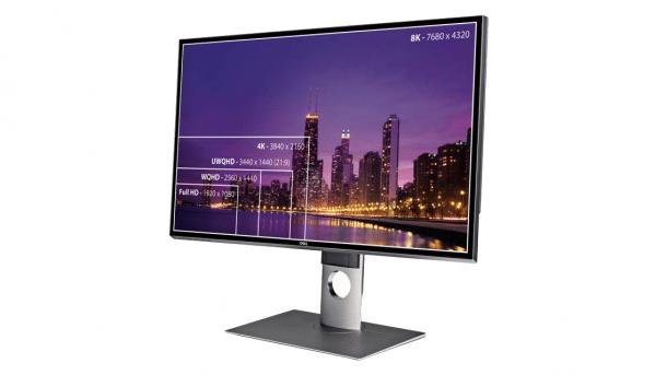 Test: 8K-Monitor Dell UltraSharp UP3218K mit blickwinkelstabilem IPS-Display