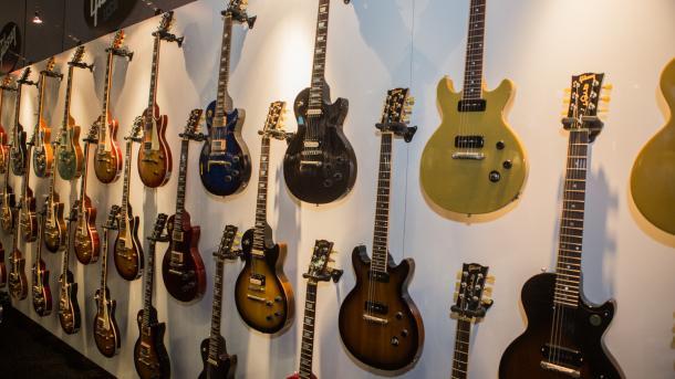 Gitarren-Pionier Gibson ist insolvent
