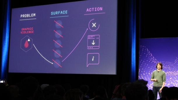 Facebook-Entwicklerkonferenz F8: KI und Faktenchecker gegen Problem-Postings