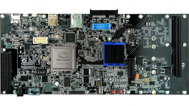 Microsemi HiFive Unleashed Expansion Board mit PolarFire-FPGA