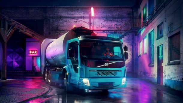 FE Electric: Volvos nächster Elektro-Lkw wird ein Müllwagen