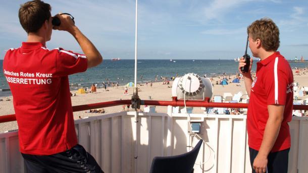 Wasserwacht setzt Rettungs-Drohnen an Ostsee-Küste ein