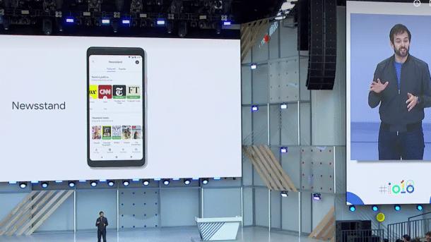 I/O: Google vermählt News mit dem Newsstand