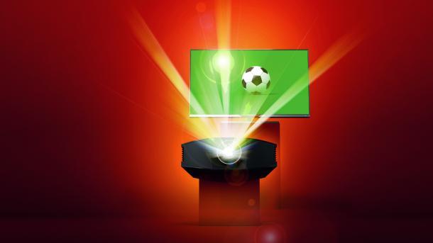 Fußball-WM: Ausstattung für das Privat-Public-Viewing