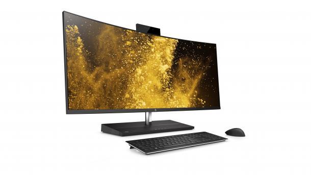 HPs neue All-in-One-PCs bringen wechselbare Bildschirme und Alexa