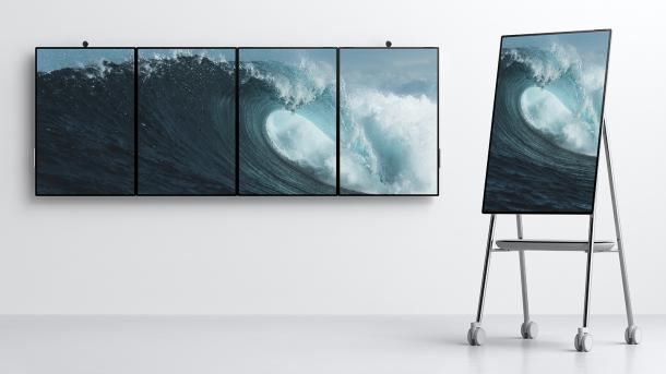 Tablet mit 50-Zoll-Display: Microsoft kündigt Surface Hub 2 an