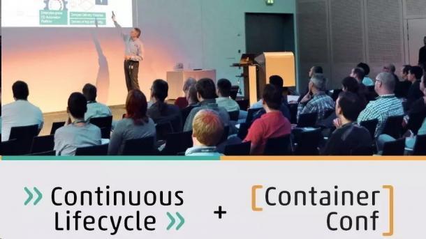 Continuous Lifecycle & ContainerConf 2018: Jetzt noch Vorträge einreichen