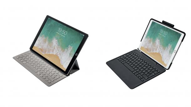 iPad-Pro Tastaturen im Test: Apple Smart Keyboard vs. Logitech Slim Combo