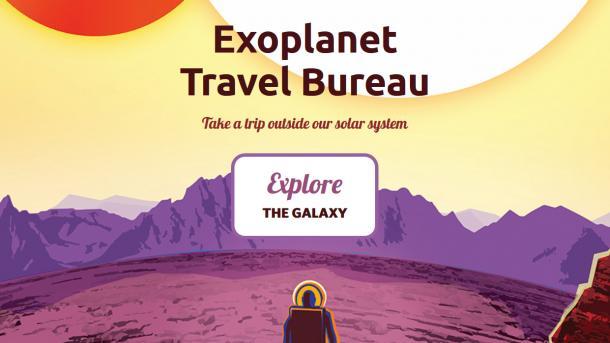 Reisebüro zu Exoplaneten: NASA wirbt für virtuelle Entdeckungen