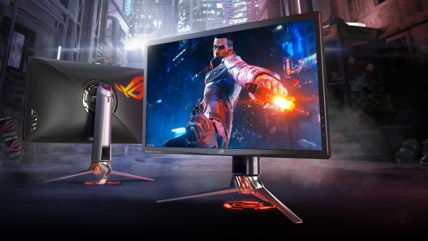 Spiele-Display ASUS ROG Swift PG27UQ mit G-Sync HDR: US-Marktstart für 2000 Dollar