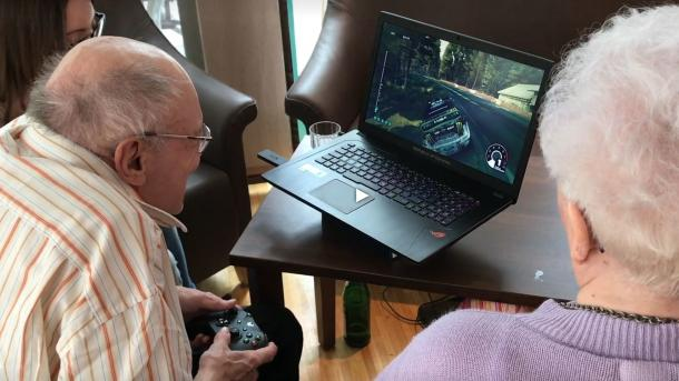 Virtual Realtity und Video-Spiele: Wie ein Altenheim digital wird