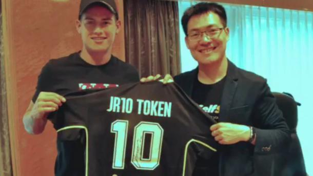 JR10: Fußballstar James Rodriguez bekommt eigene Kryptowährung