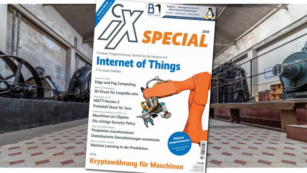 "iX special ""Internet of Things"" jetzt am Kisok"