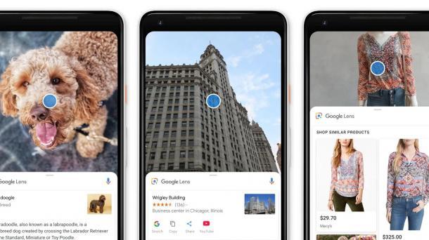 Google Lens als Stand-Alone-App für Android veröffentlicht