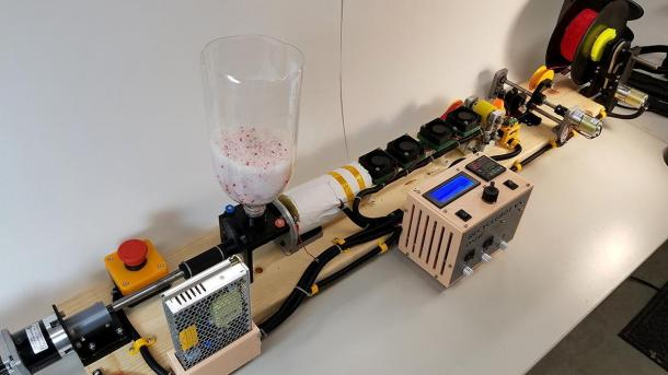 RepRapable Recyclebot: der