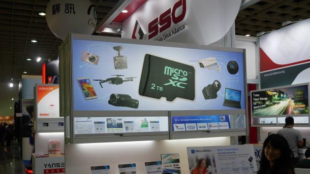 Computex: Schnelle SSDs und große MicroSD-Karten