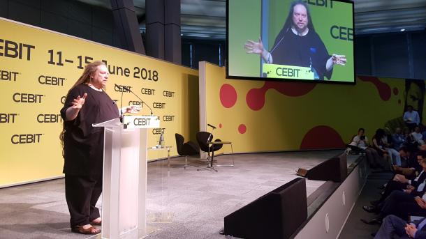 """""""Fake-Geschäftsmodelle"""": Cebit startet mit Abreibung für die Tech-Branche"""