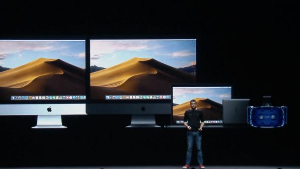 macOS 10.14 unterstützt HTCs VR-Brille Vive Pro