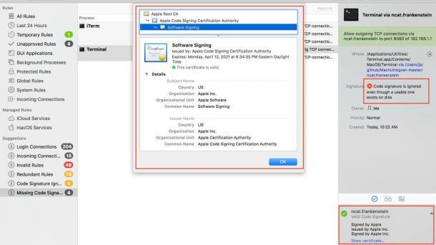Mac-Malware kann Sicherheits-Tools austricksen