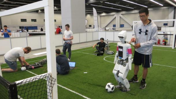 RoboCup-WM: Auftakt grandios verstolpert