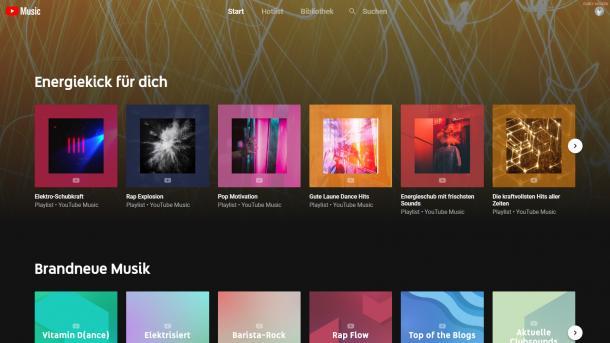 Musik-Streaming: YouTube Music startet in Deutschland
