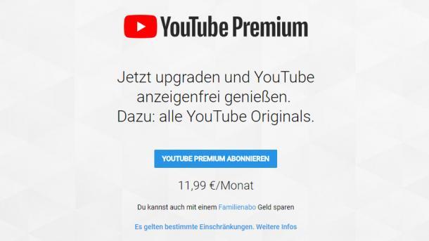 YouTube Premium: Videos ohne Werbung schauen