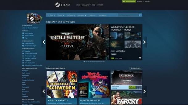 Steam-Spiele: Valve-Tool zeigt Gesamtausgaben für einen Account an