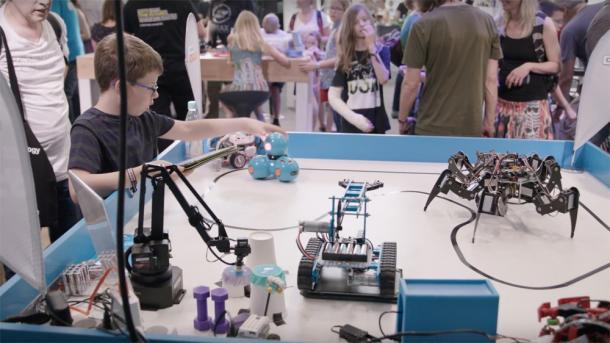 Personalbeschaffung mal anders: Recruitainment auf der Maker Faire Hannover