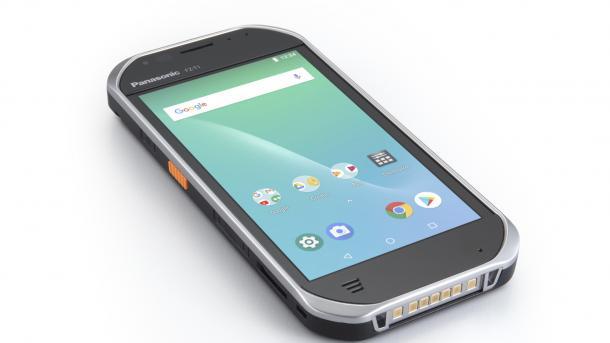 Panasonic Toughbook FZ-T1: Robustes Android-Smartphones mit Wechselakku