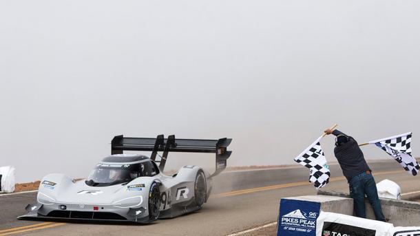 Elektro-Rennwagen: Volkswagen bricht den Rekord am Pikes Peak